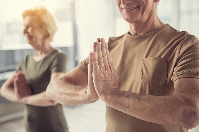 Le yoga aux aînés