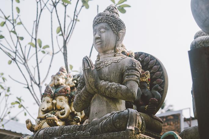 Du Bouddhisme au Hatha-Yoga
