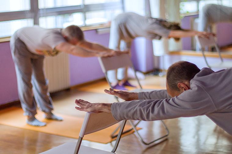 Yoga pour les aînés