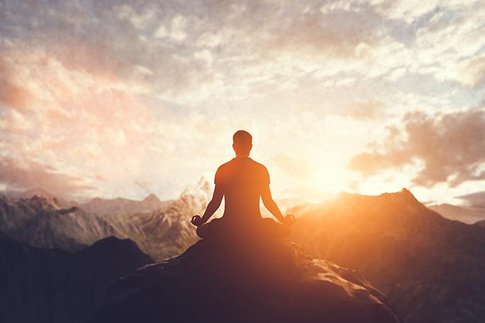 Méditer dans la posture
